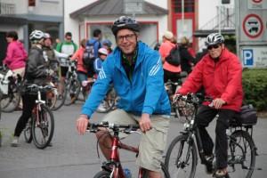 Zahlreiche Radler und Radlerinnen aus der ganzen Region werden beim 31. Radaktionstag erwartet. Symbolbild: Michael Thalken/Eifeler Presse Agentur/epa
