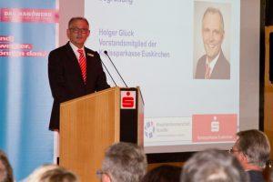 Holger Glück, Vorstandsmitglied der Kreissparkasse Euskirchen. Bild: Tameer Gunnar Eden/Eifeler Presse Agentur/epa