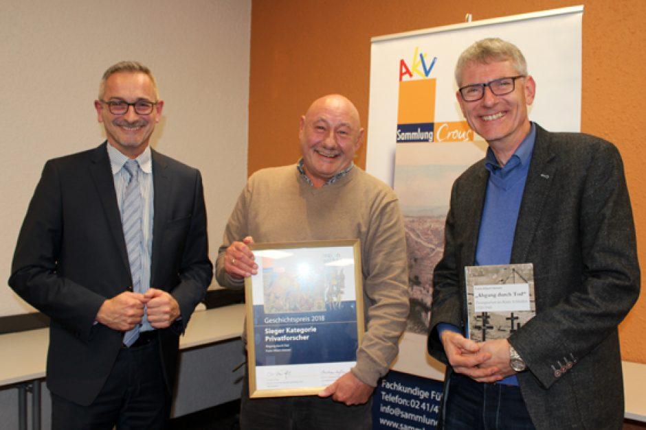 F.A. Heinen erhielt Geschichtspreis der AKV Sammlung Crous