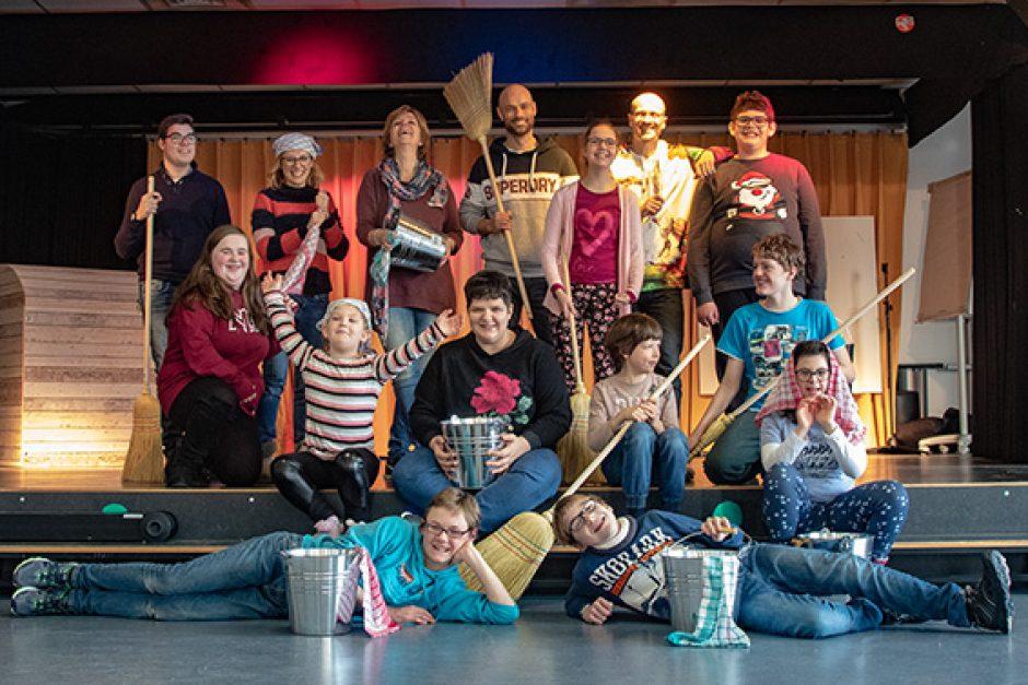 Schüler arbeiten mit Musical-Profis für das große Publikum