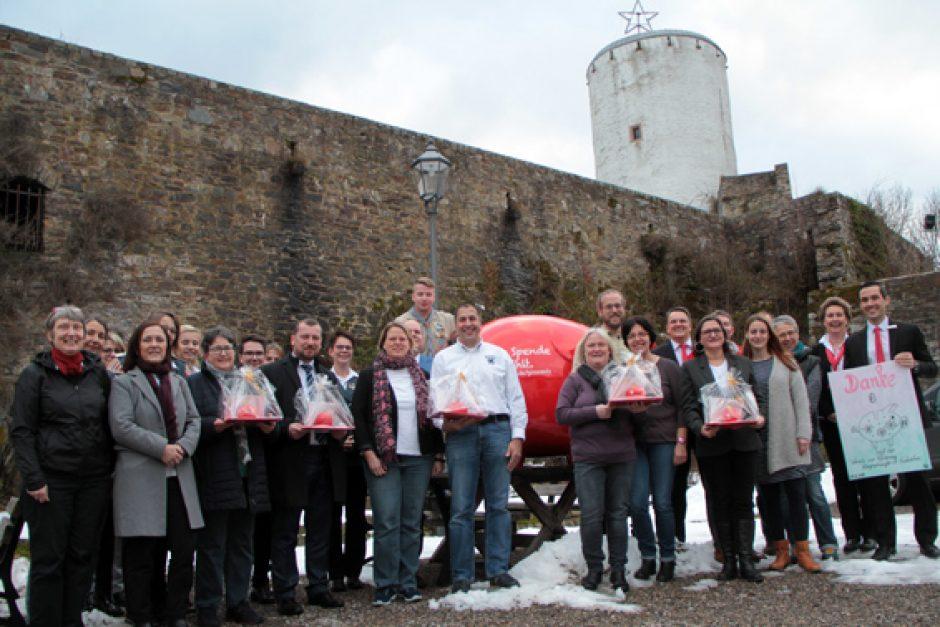 """KSK Euskirchen verteilte über 11.000 Euro aus Kundenspendenprogramm """"GiroCents"""""""