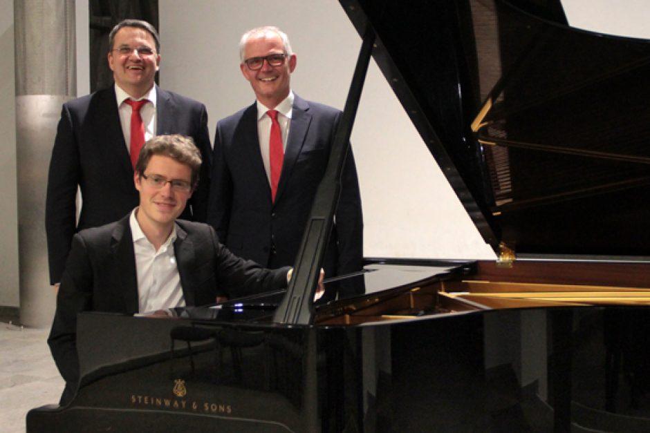 Pianist Florian Noack erfüllte alle Erwartungen