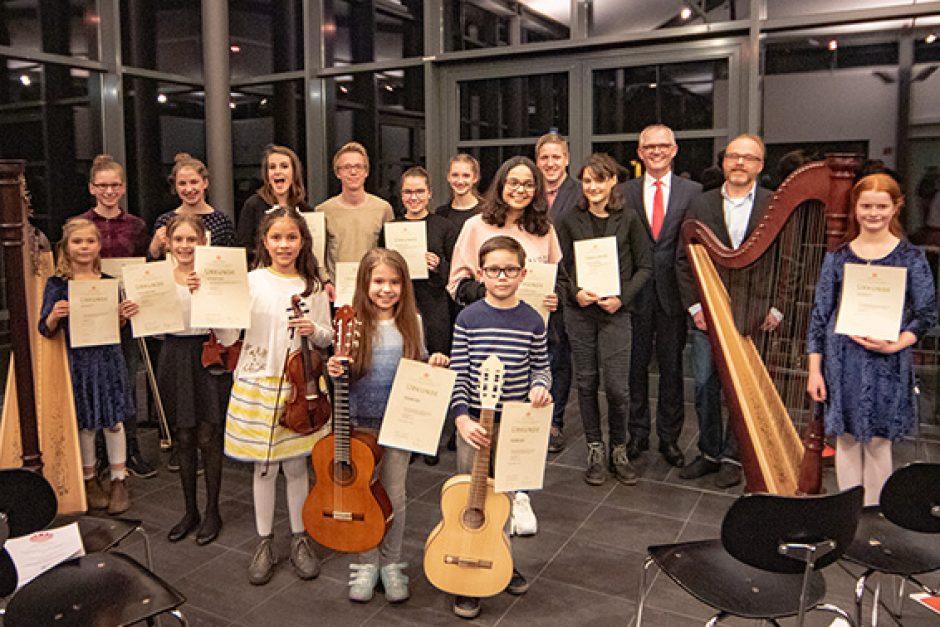 Junge Talente verwandelten die Mottenburg in einen Konzertsaal