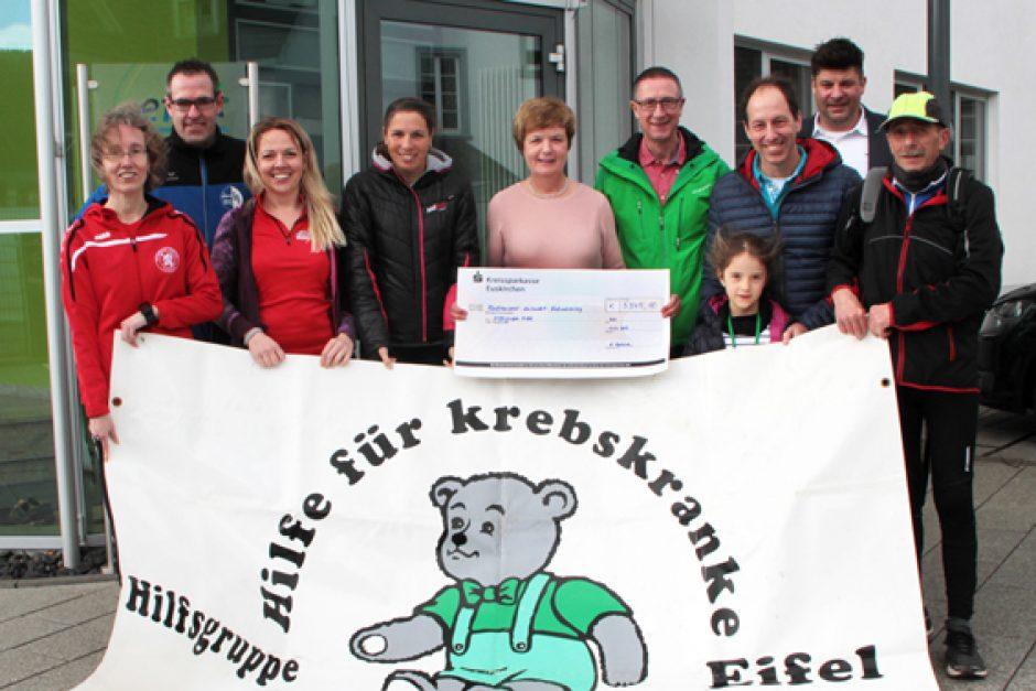 Neuer Spendenrekord beim Nordeifellauf für die Hilfsgruppe Eifel