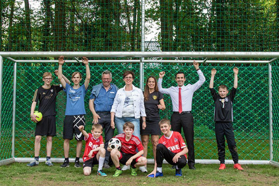 Altersgerechte Tore für den Fußballnachwuchs
