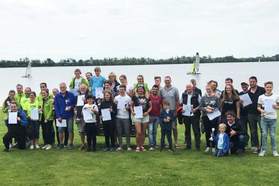 55 Surferinnen und Surfer eroberten den Zülpicher See