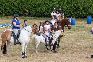 Vom kleinen Pony bis zum ausgewachsenen Springpferd einte große Leistung mit Spaß die Teilnehmer des Turniers. Bild: Tameer Gunnar Eden/Eifeler Presse Agentur/epa