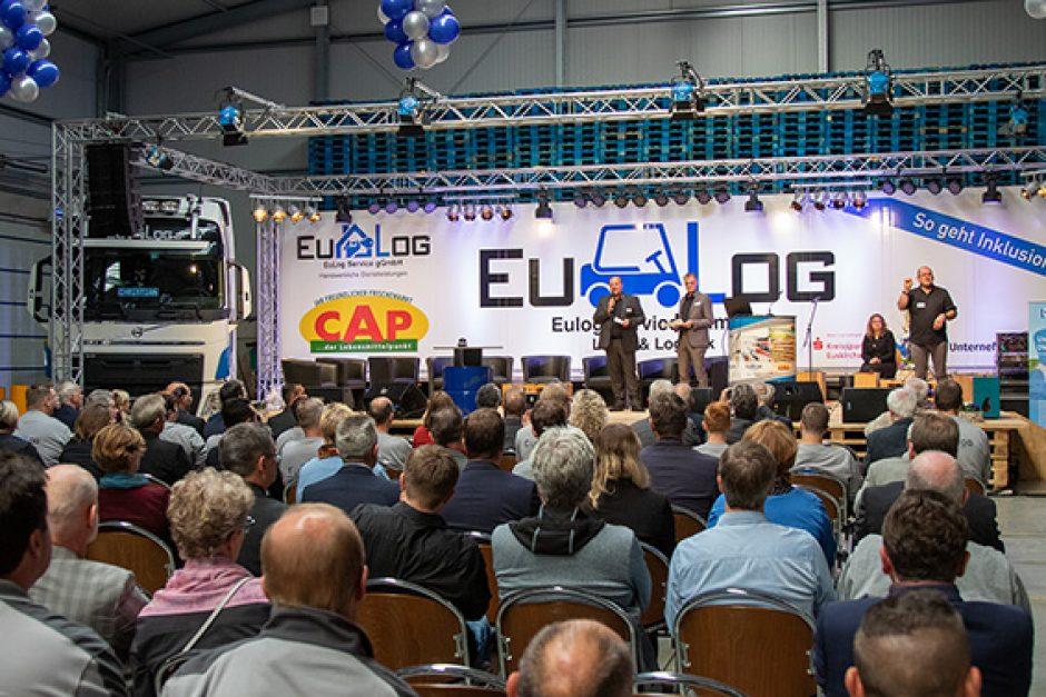"""Inklusionsunternehmen """"EuLog"""" ist ein """"Big Player"""" im Kreis Euskirchen"""