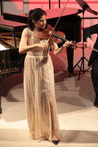 Violinistin Soledad spielte sich in die Herzen der Zuhörer. Bild: Michael Thalken/Eifeler Presse Agentur/epa