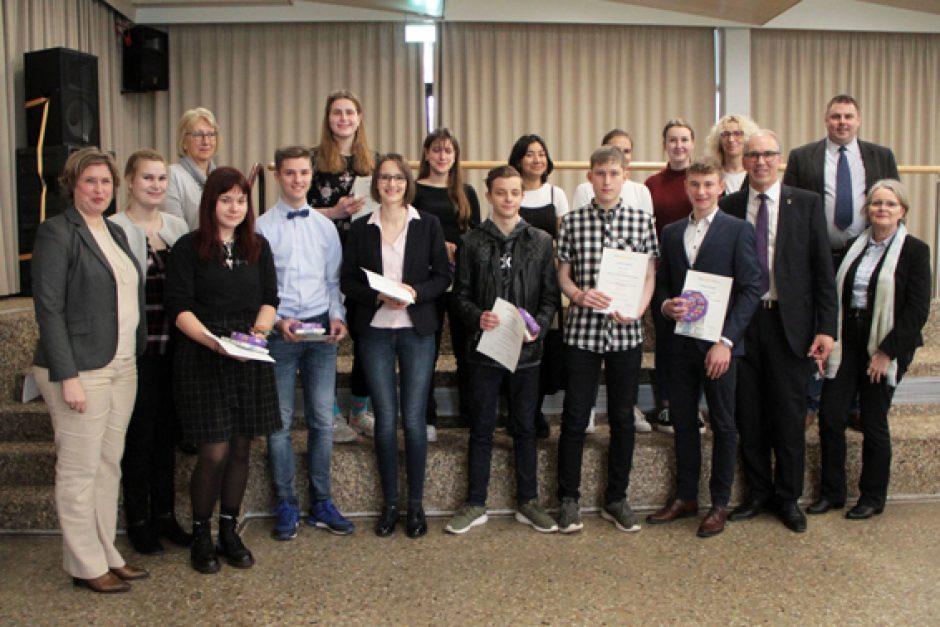 Kurze Reden, langer Sinn: Elf junge Leute zeigten ihre sprachlichen Fähigkeiten