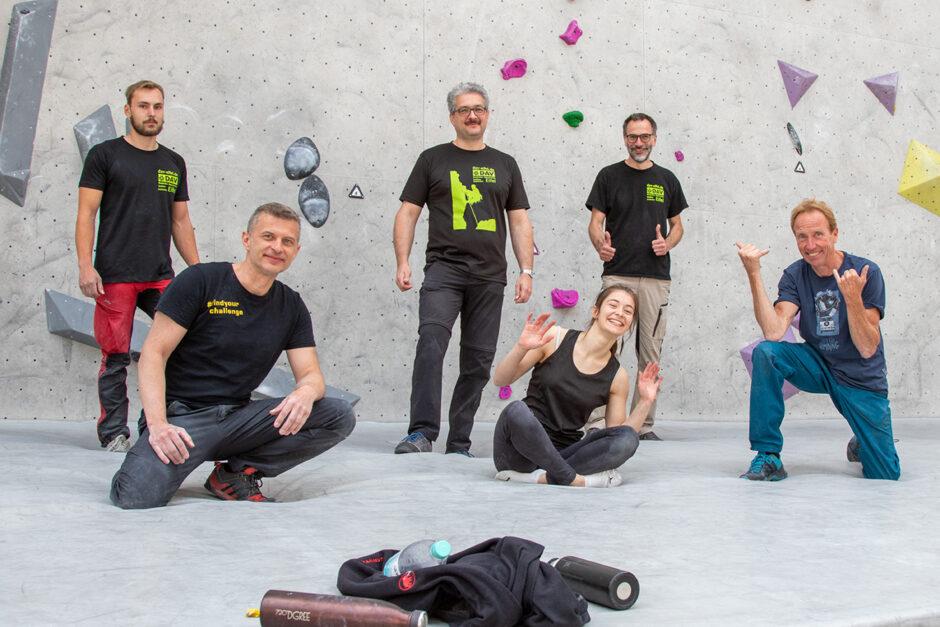 Internationale Kletter- und Routenbaulegende lehrt Team des DAV Eifel