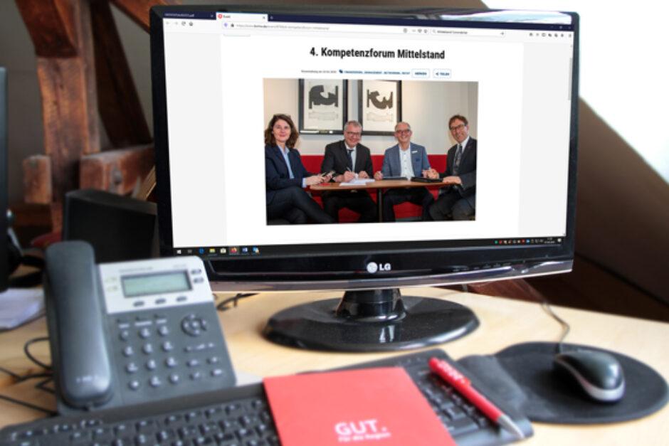 4. Kompetenzforum Mittelstand als Webinar zum neusten Konjunkturprogramm